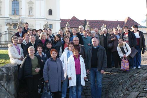 Pielgrzymka do Częstochowy, Łagiewnik i Oświęcimia 2009