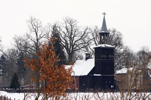 Parafia zimą 2010
