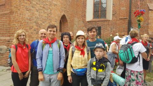 Parafianie w drodze do tronu Jasnogórskiej Pani 2019
