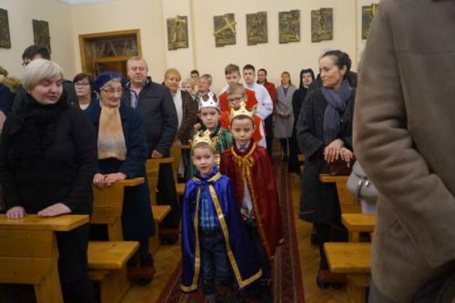 Uroczystość Objawienia Pańskiego 2020 (kaplica Sióstr Pasterek)